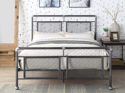 Flintshire Hope 3FT Single Metal Bedstead