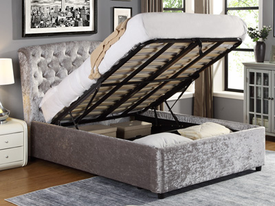 Harmony Beds Oxford 5FT Kingsize Ottoman Bed