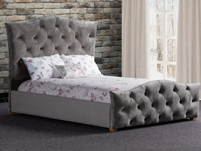 Sweet Dreams Freya 5FT Kingsize Fabric Bed