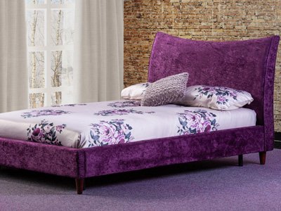 Sweet Dreams Poppy 4FT 6 Double Fabric Bed