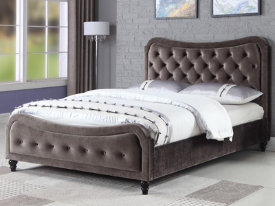 Sweet Dreams Mason 5FT Kingsize Fabric Bed