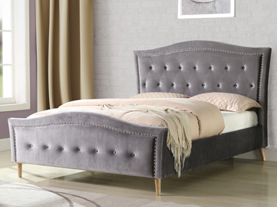 Sweet Dreams Austin 4FT 6 Double Fabric Bed