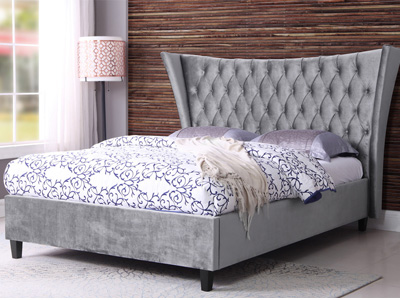 Sweet Dreams Parker 5FT Kingsize Fabric Bed