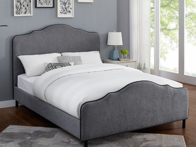 Sweet Dreams Carter 4FT 6 Double Fabric Bed
