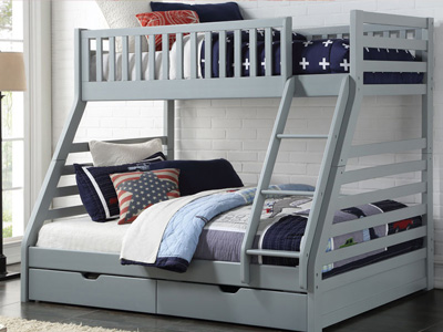 Sweet Dreams States 3 Sleeper Bunk Bed