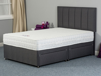 Sweet Dreams Faith 4FT Small Double Divan Bed