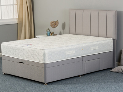 Sweet Dreams Fletcher Ortho 3FT Single Divan Bed