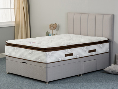 Sweet Dreams Natasha Wool 4FT 6 Double Divan Bed