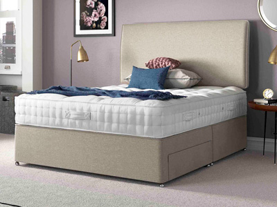 Relyon Heritage Woolsack 4FT Small Double Divan Bed