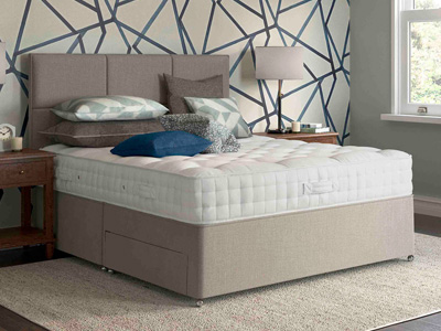 Relyon Heritage Seaton 3FT Single Divan Bed