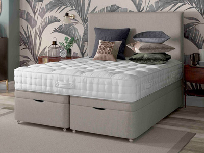 Relyon Heritage Vienna Ortho 4FT Small Double Divan Bed