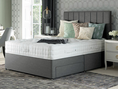 Relyon Heritage Chatsworth 4FT 6 Double Divan Bed