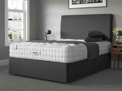 Relyon Classic Wool 2100 Elite 6FT Superking Divan Bed