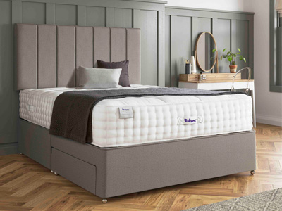 Relyon Classic Alpaca 2500 Elite 4FT Small Double Divan Bed