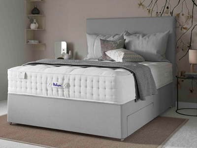 Relyon Classic Ortho 1450 Elite 4FT 6 Double Divan Bed