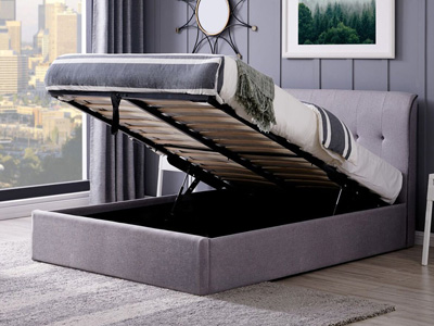 Flintshire Carmel  Fabric Bed Frame