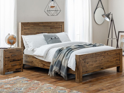 Julian Bowen Hoxton  Wooden Bed