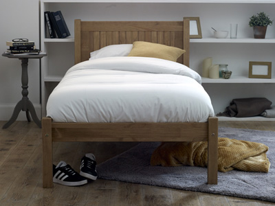Limelight Beds Capricorn 4FT Small Double Wooden Bedstead