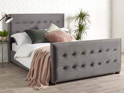 Slouch 5FT Kingsize Fabric Bedframe