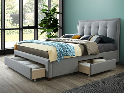Birlea Shelby 4FT 6 Double Storage Bed