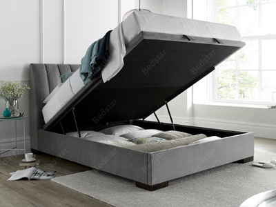 Kaydian Design Lanchester  Ottoman Bed - Plume