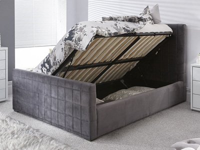 Milan Bed Company Delaware 4FT 6 Double Ottoman Bed