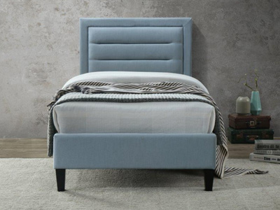 Limelight Beds Picasso 4FT 6 Double Fabric Bedframe - Blue