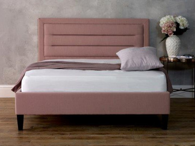 Limelight Beds Picasso 3FT Single Fabric Bedframe - Pink
