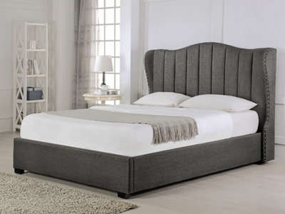 Emporia Beds Sherwood 6FT Superking Ottoman Bed - Grey