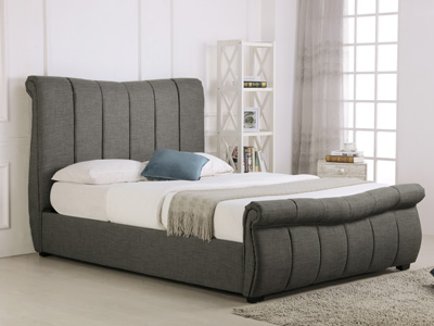 Emporia Beds Bosworth 5FT Kingsize Ottoman Beds - Grey