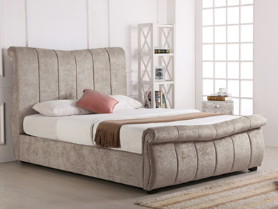 emporia Beds Bosworth 6FT Superking Ottoman Bed - Stone