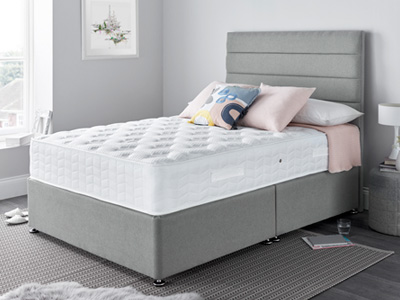 Giltedge Beds Gel Comfort 5FT Kingsize Divan Bed