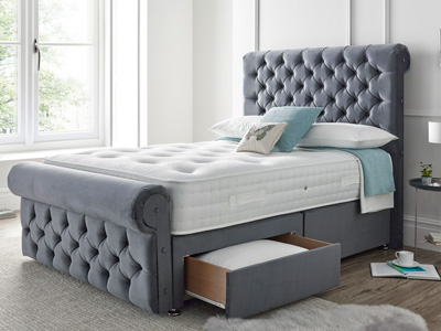 Giltedge Beds Westbury  Fabric Bed