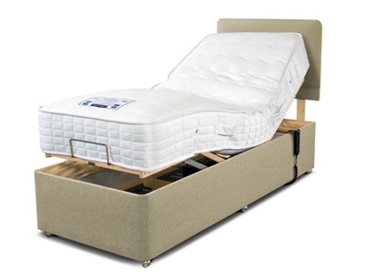 Sleepeezee Cooler Comfort 2FT 6 Small Single Adjustable Bed