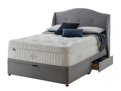 Silentnight Panache Affluent 3000 Geltex 4FT 6 Double Divan Bed