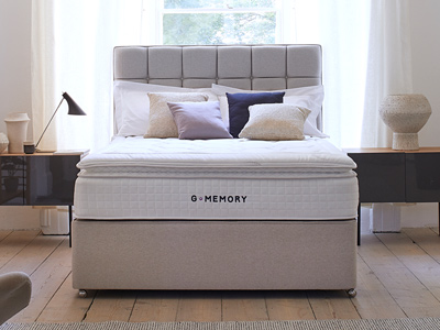 Sleepeezee G4 Memory 4FT 6 Double Divan Bed