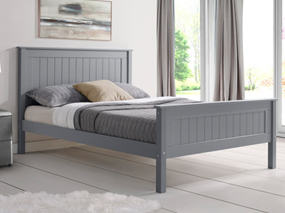 Limelight Beds Taurus High  Wooden Bed Frame - Grey