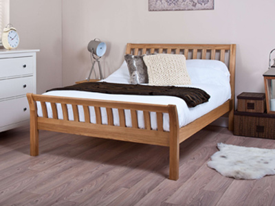 Silentnight Carlton  Wooden Bed