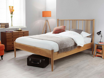 Silentnight Farnley  Wooden Bed