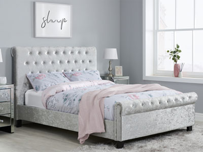 Birlea Sienna  Fabric Bed