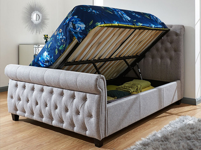 Milan Bed Company Lucerne  Ottoman Bed