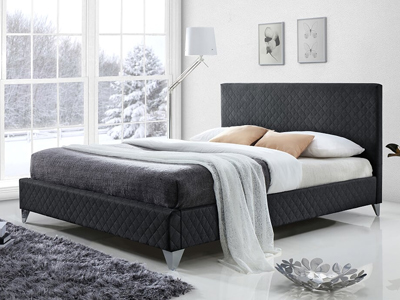 Time Living Brooklyn  Fabric Bed