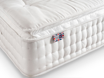 Sleepeezee Wool Supreme 2400  Mattress + 2 Free Pillows